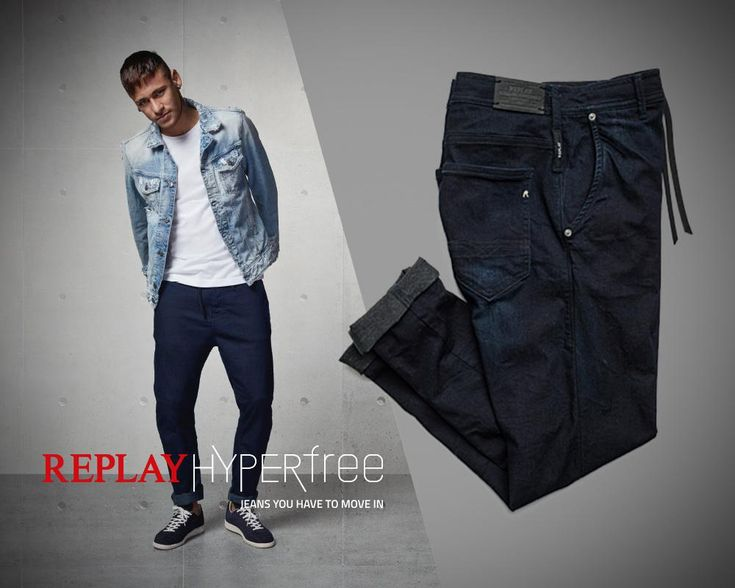 Denim that just moves with Neymar Jr.