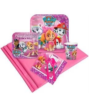 PartyBell.com - Pink Paw Patrol Girl Party Pack (24)