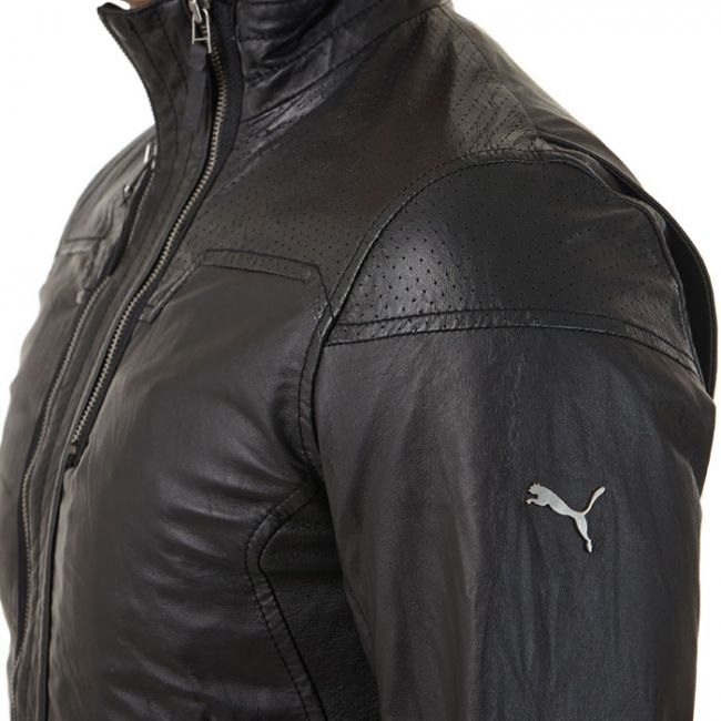 puma ferrari leather jacket jackets coats pinterest. Black Bedroom Furniture Sets. Home Design Ideas