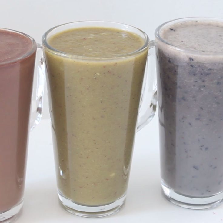 Cure back-to-school blues with these power-packed smoothies.