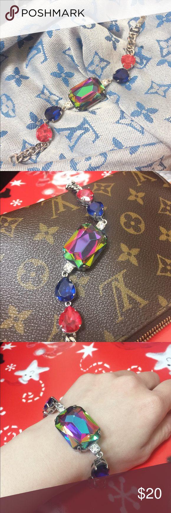 "Kurt Geiger London Gemstone Bracelet Length: 8""  Gift with every purchase. kurt geiger Jewelry Bracelets"