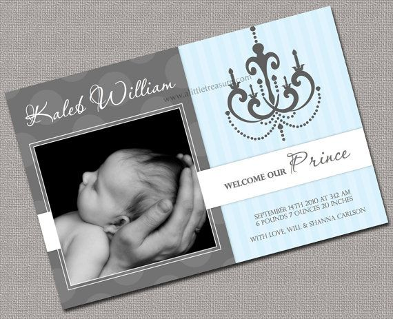 71 best Baby Birth Announcements images – Diy Baby Announcements