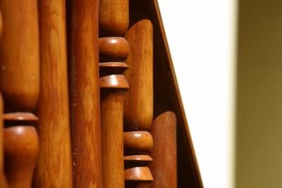 How To Clean Sticky Wooden Handrails Stair Banister