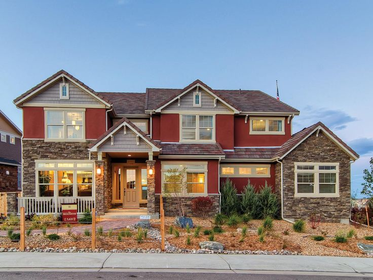 34 best craftsman style images on pinterest craftsman for Craftsman homes with stone