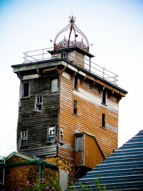 Flax mill, Ditherington, Shrewsbury, England