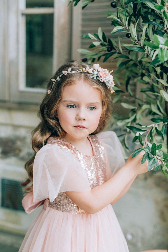 abe7a00c64e Sequin flower girl dress