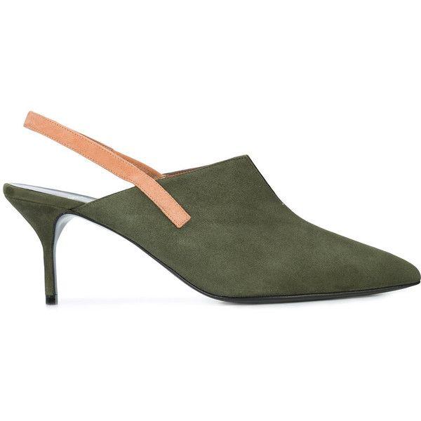 Pierre Hardy Secret pumps (1,257 CAD) ❤ liked on Polyvore featuring shoes, pumps, green, pierre hardy shoes, green shoes, pierre hardy pumps, suede shoes and pierre hardy