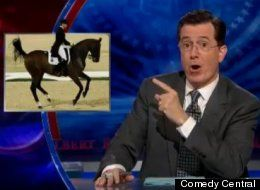 """Video link to Colbert Report coverage of Dressage """"the Sport of the Summer"""""""