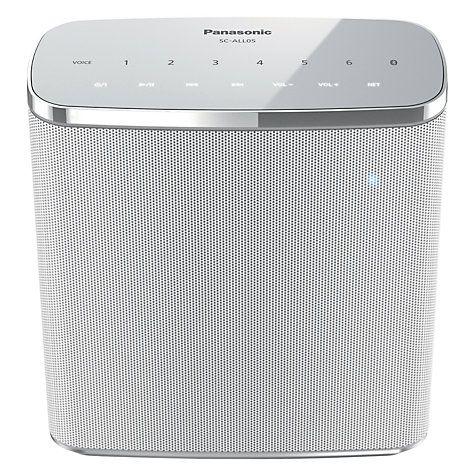 Buy Panasonic SC-ALL05 Multiroom Bluetooth Speaker Online at johnlewis.com