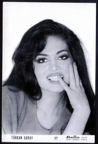 the most beautiful woman of history of turkish cinema ; Türkan Şoray