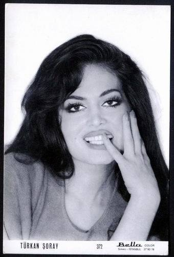 the most beautiful woman of history of turkish cinema ; Türkan Şoray