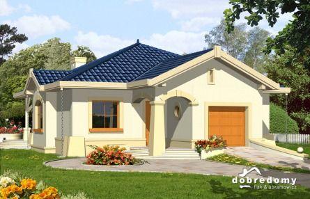#Projekty domów parterowych - KOMETA - piękne, funcjonalne CENA 2331 zł