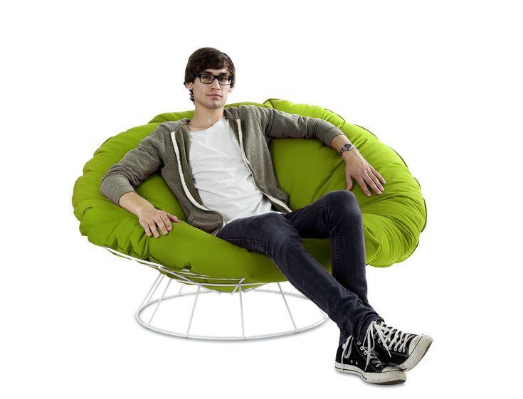 Outdoor Sessel Loungesessel Sitzsack Grün Woody 170 00032 Acryl Modern  Jetzt Bestellen Unter: Https