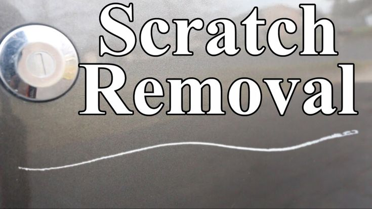 How to remove scratches from car permanently easy