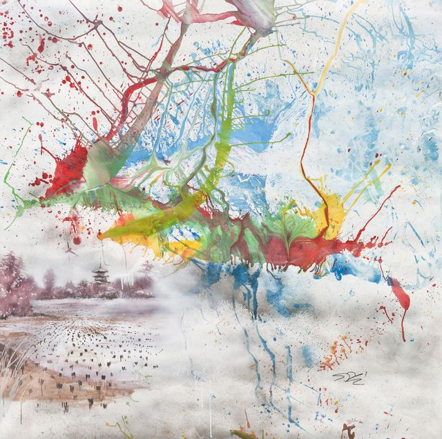 Shozo Shimamoto | Untitled (2009), Available for Sale | Artsy