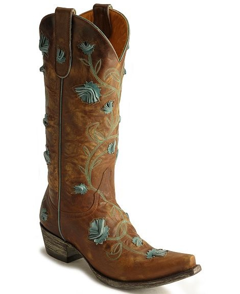 Old Gringo Abby Rose Cowgirl Boots - Snip Toe