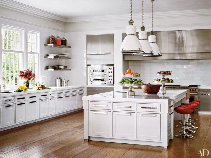 EXTRA LONG RANGE HOOD   Celebrity Kitchen Decor - Nate Berkus, Ellen DeGeneres, Neil Patrick Harris, and More Photos | Architectural Digest