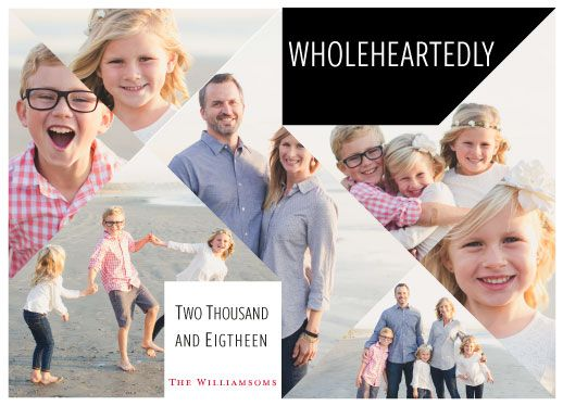 new year's cards - Wholeheartedly by Bethania Lima