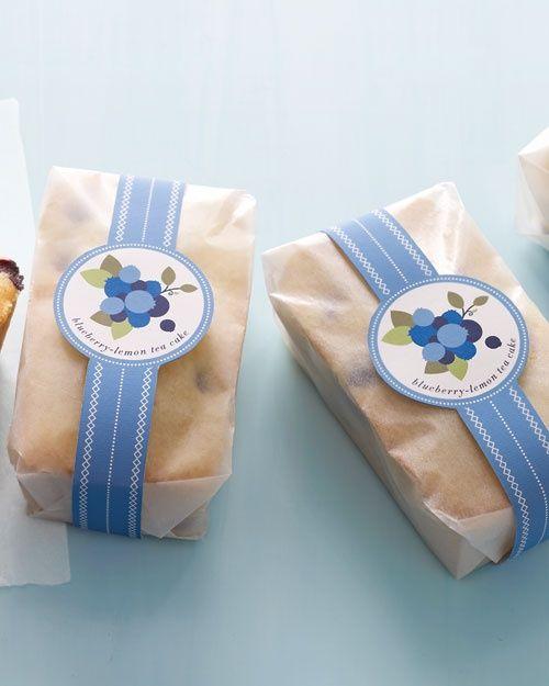 ^^ Make and Give: Blueberry-Lemon Tea Cakes - Martha Stewart Food