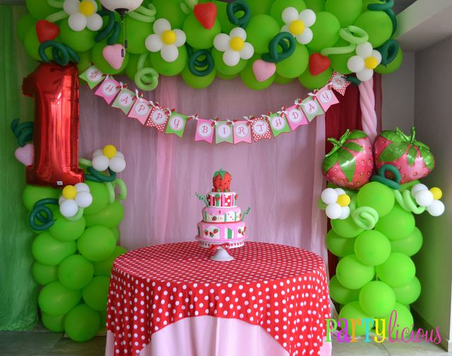 "Photo 4 of 24: Strawberry Shortcake / Birthday ""{Vintage Strawberry Shortcake Birthday}"" 
