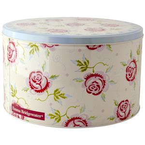 ROSE & BEE | nested round cake tins | set of 3 | storage tin | home & kitchen gift