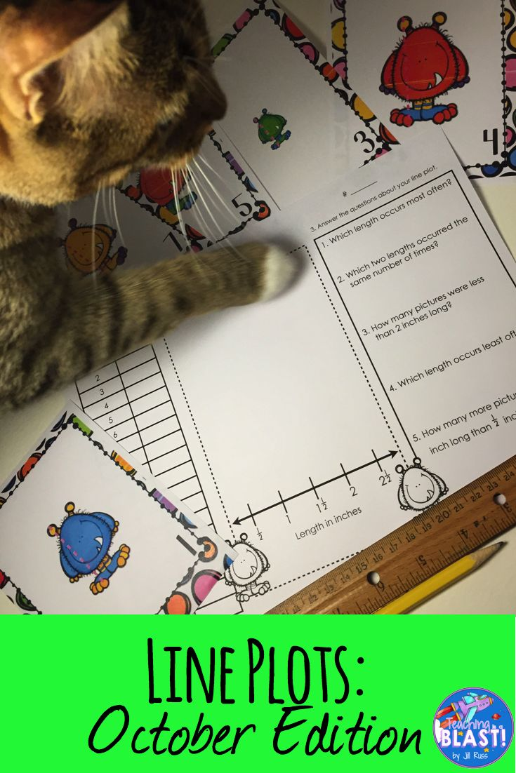 The kitty loves these line plots task