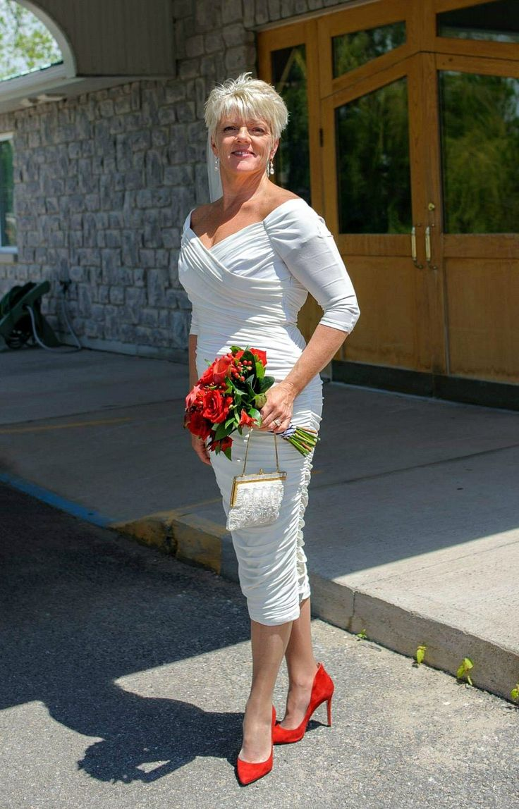 RealLife Wedding Dresses for Second Marriage Over 40