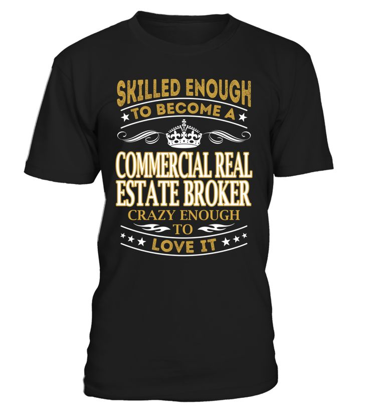Commercial Real Estate Broker - Skilled Enough To Become #CommercialRealEstateBroker