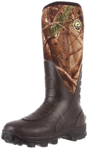 "Irish Setter Men's RutMaster WP 17"" Rubber Boot,Brown/Realtree All Purpose,12 E US >>> Click image for more details."