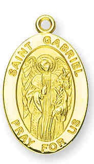 Saint Gabriel Medallion