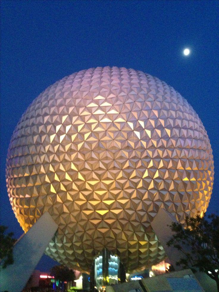 Epcot Orlando, EUA. #Disney #Viagem                                                                                                                                                      Mais