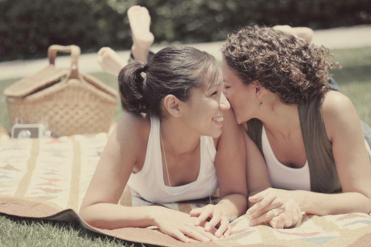 Long Beach Lesbian Engagement Session