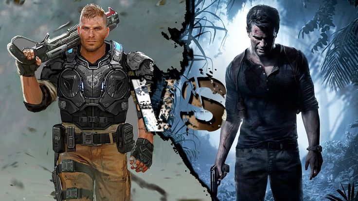 Gears of War 4 VS Uncharted 4 | GRAPHICS COMPARISON | Comparativa Beta