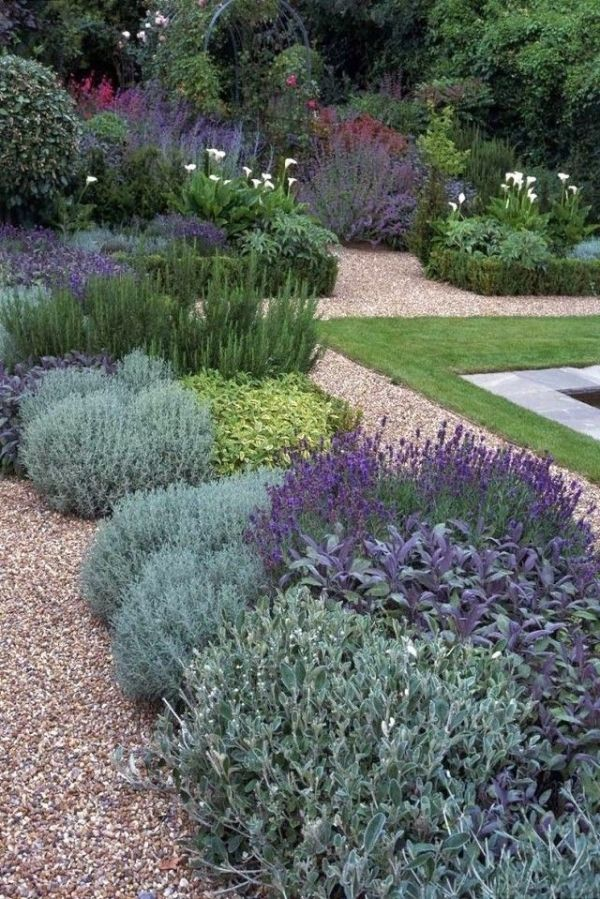 25 best ideas about front yard landscaping on pinterest for Low maintenance summer plants