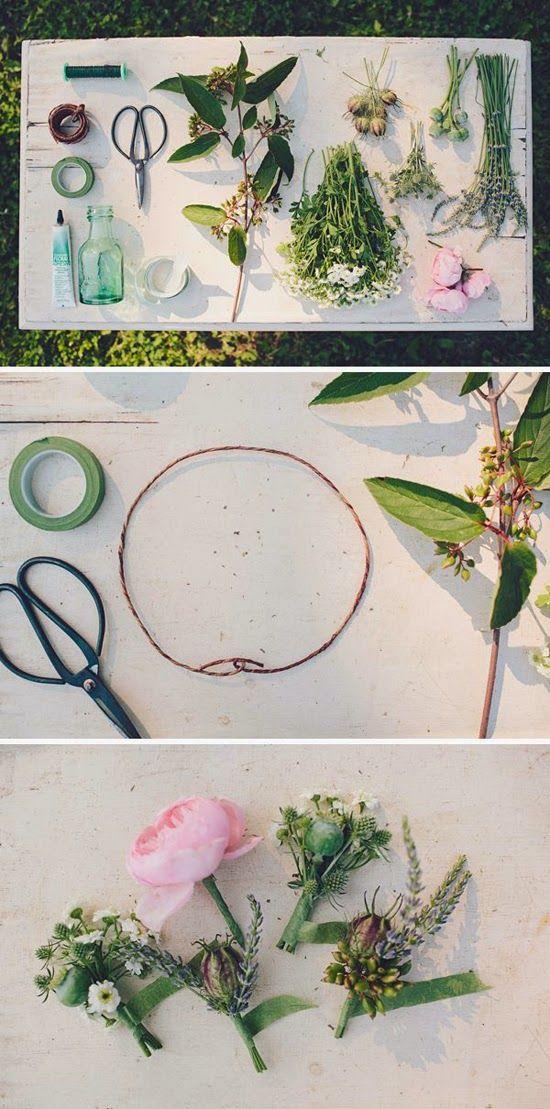 ¡Nos encanta el look romántico de las coronas de flores! Novias, invitadas, damitas del cortejo...¡Nadie puede resistirse! Están de moda, s...