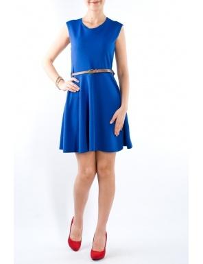 Rochie semiclos cu curea Albastru  Brand: Yard