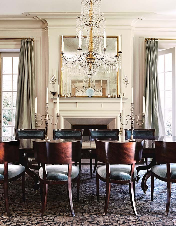 1173 best dining rooms images on pinterest dining rooms for Traditional dining room fireplace