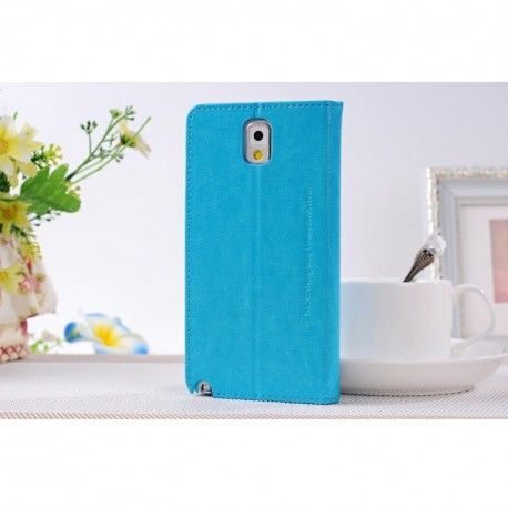 Samsung Galaxy Note 3 Case SULADA Smart Cover Classic Series termurah hanya di Gudang Gadget Murah. SULADA Smart Cover Classic Samsung Galaxy Note 3 - Blue