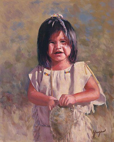 Indian Survival Skills: Native American: John Yaeger Fine Art KK