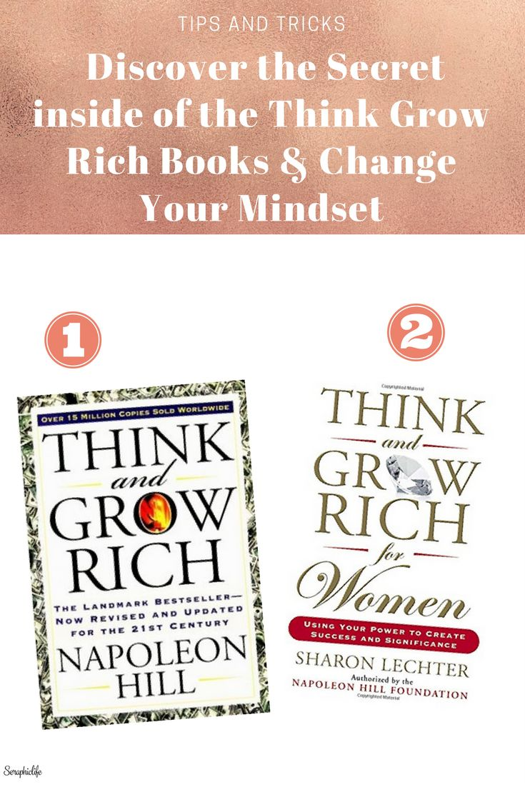 Discover the Secret inside of the Think Grow Rich Books