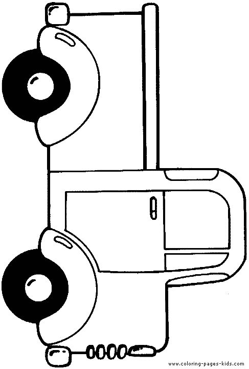 printable coloring pages trucks   pages - printable coloring pages - color pages - kids coloring pages ...