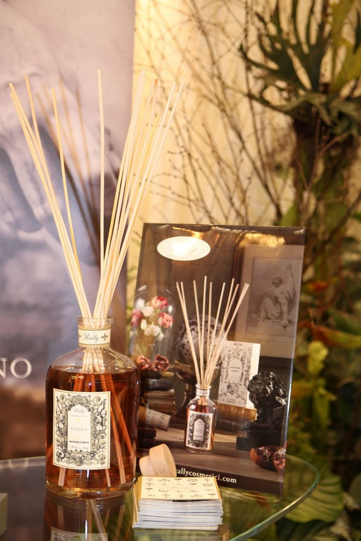 La fragranza per ambiente ANTIQUA profuma l'evento Hunting World Firenze.  www.wallycosmetici.com