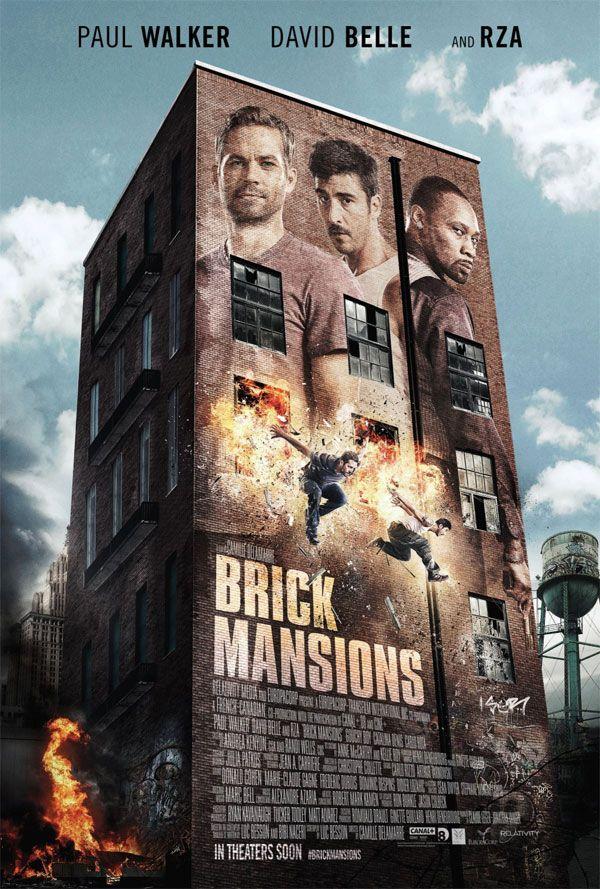 """""""Brick Mansions"""" com Paul Walker teve divulgado trailer e cartazes. http://bauruzeira.com.br/LK/55/x.html"""