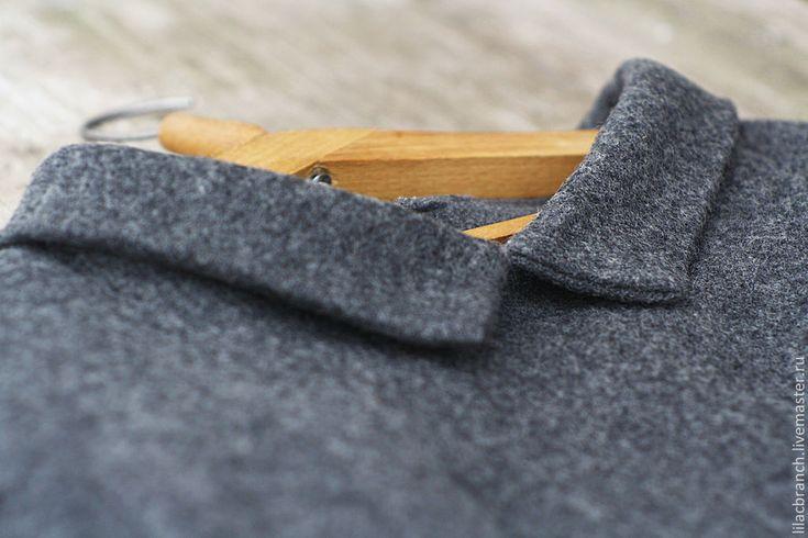 """Купить Пуловер """"Французский Цвет"""" - серый, свитер, пуловер, пуловер женский, пуловер шитый"""