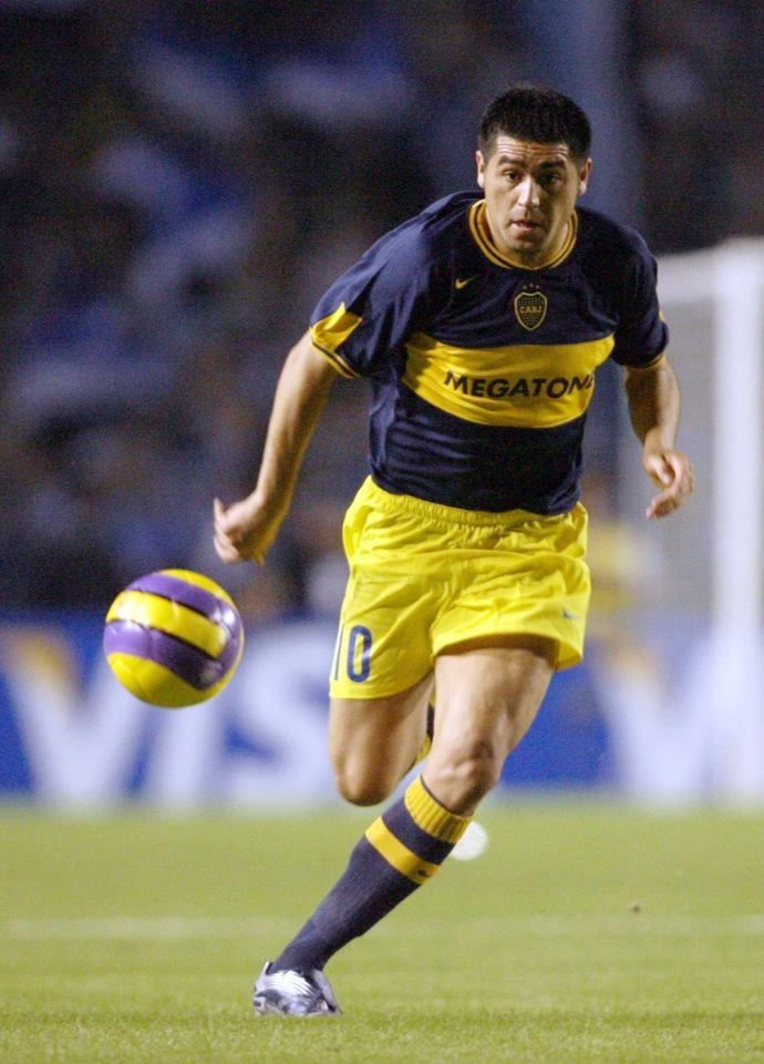 Juan Román #Riquelme #Libertadores 2007