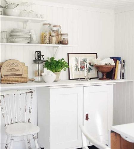 Mejores 73 im genes de decoracion cocinas en pinterest - Vajilla shabby chic ...