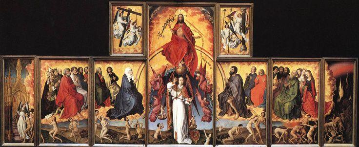 rogier van der weyden last judgment - Google Search