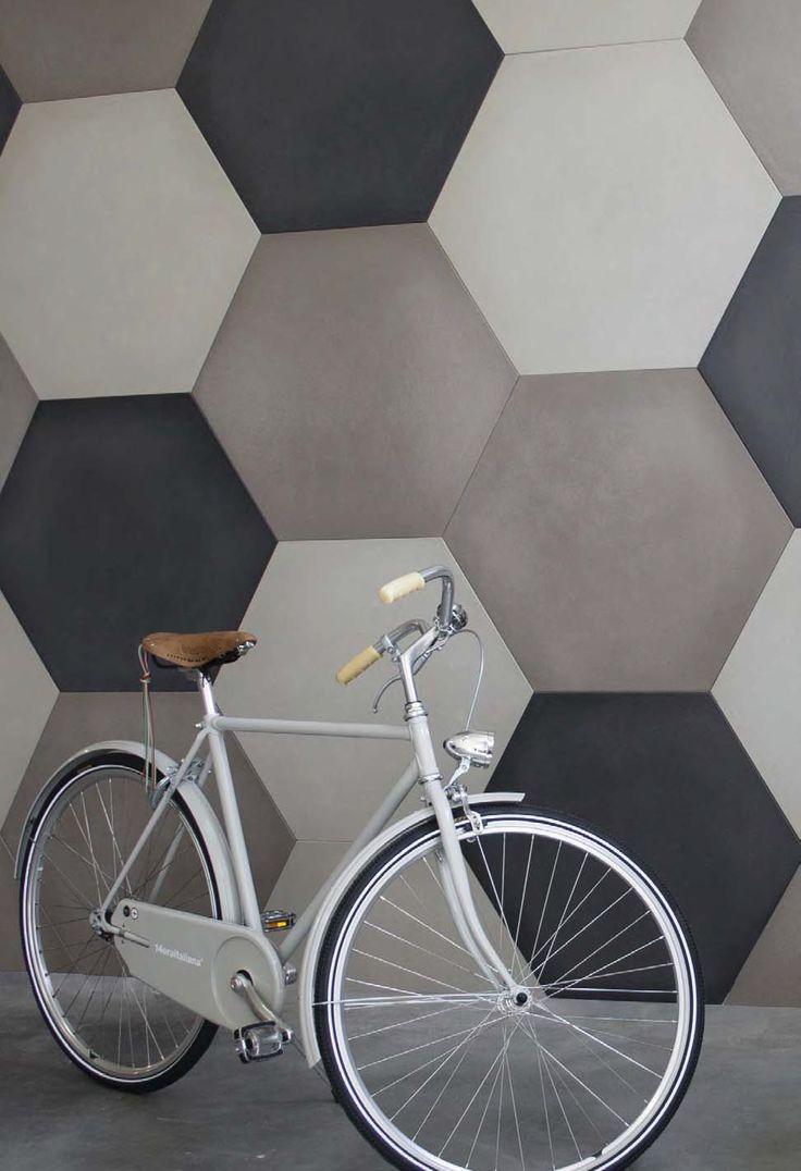 Revestimiento de pared/suelo de cemento CEMENTO14 ESAGONI Colección CEMENTO14 by 14 ORA ITALIANA