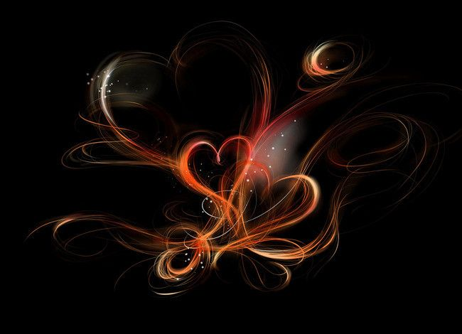 Black Beautiful Love Fantasy Background In 2020 Heart Wallpaper