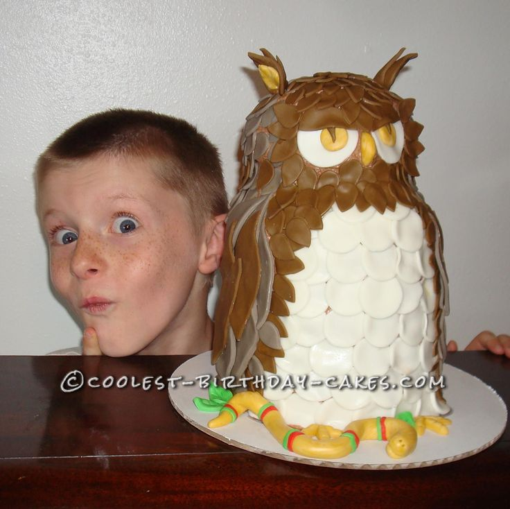 Great Owl Cake Disaster... This website is the Pinterest of birthday cake ideas